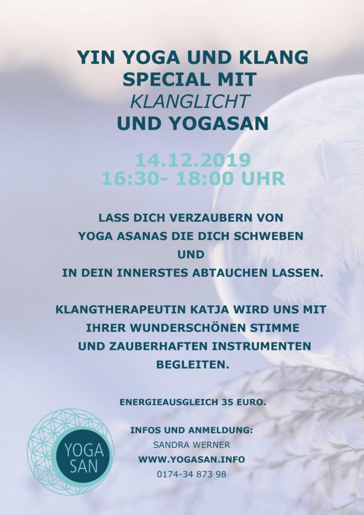 Workshop Yin Yoga und Klang