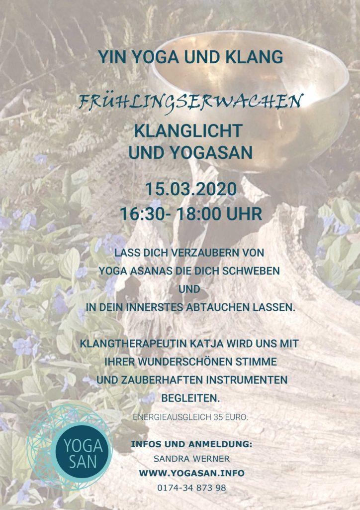 Yin Yoga Frühlingserwachen